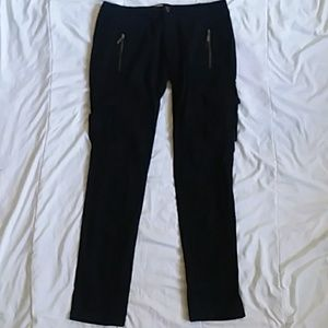 Freestyle Pants - Black Pants With Zippers And Pockets